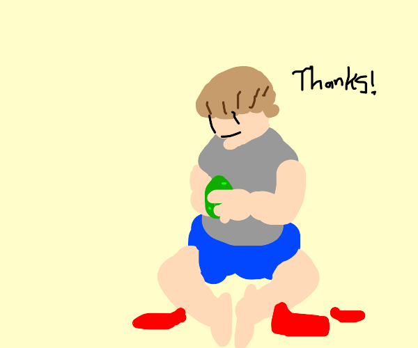 An avocado! Thaaanks