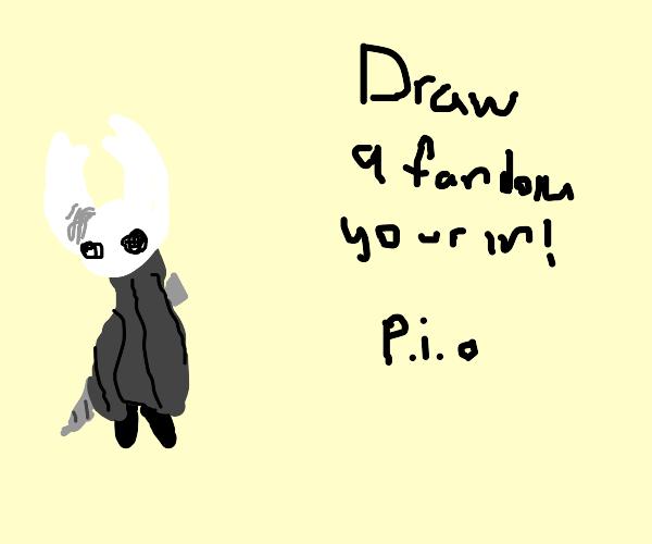 draw a fandom you're in! (PIO)
