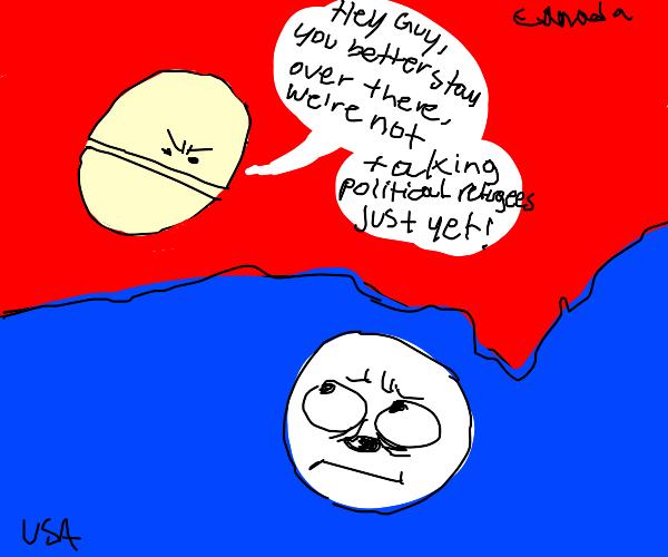 canada hates immigration
