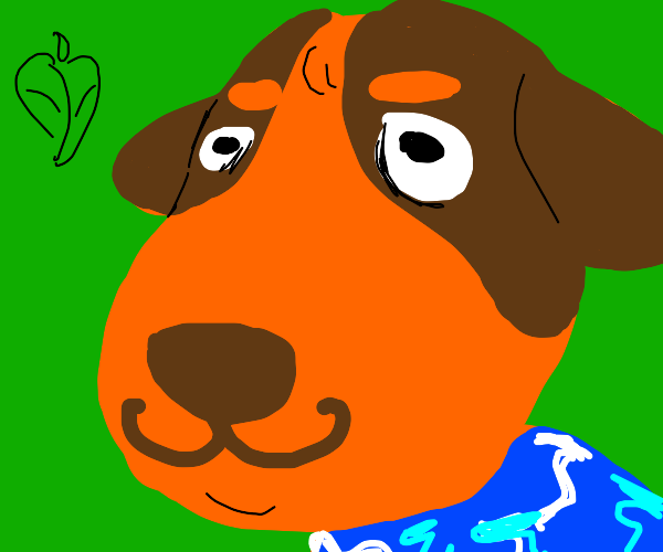 Animal crossing puppy character