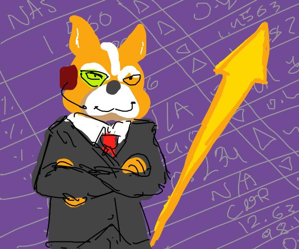 Star Fox Stonks