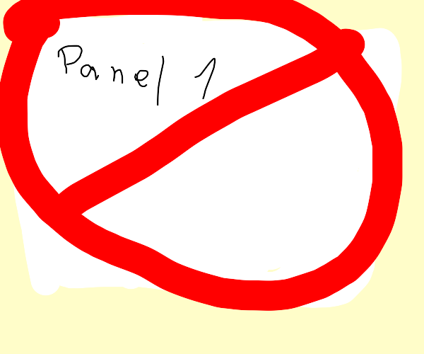 panel 1 should not exist