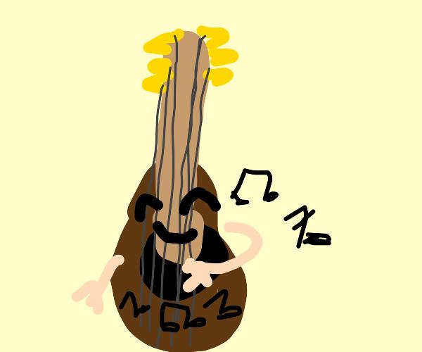 Guitar plays itself