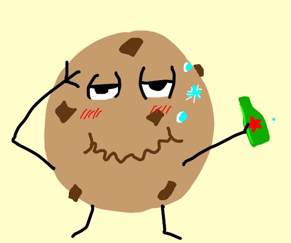 Drunk cookie