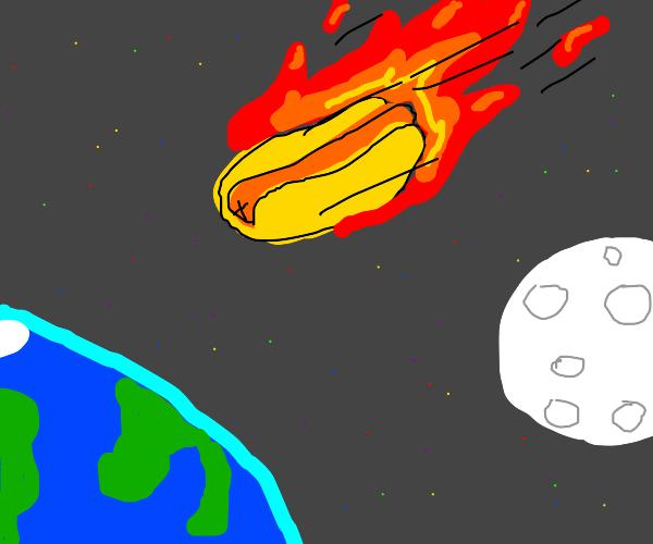 Hotdog meteorite