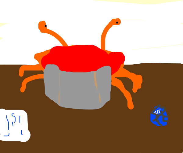 Crab wants you to join his D&D party