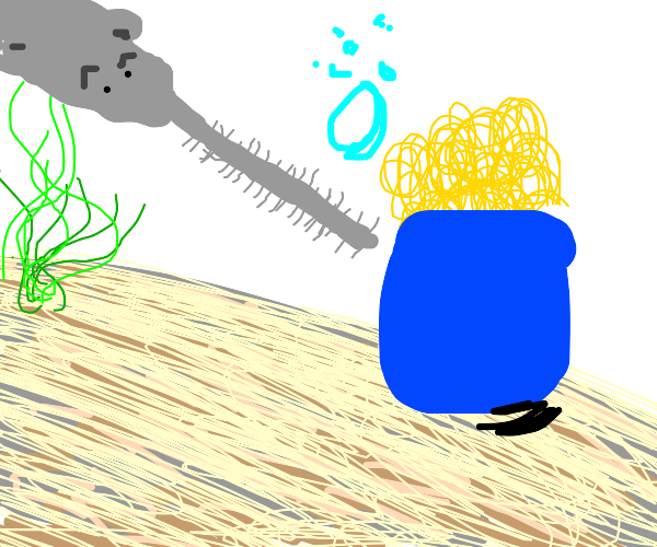Sawfish cleaning Noodles