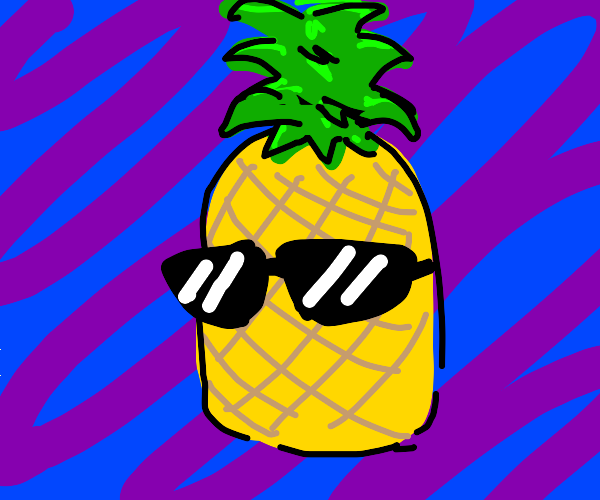 Coolest pineapple