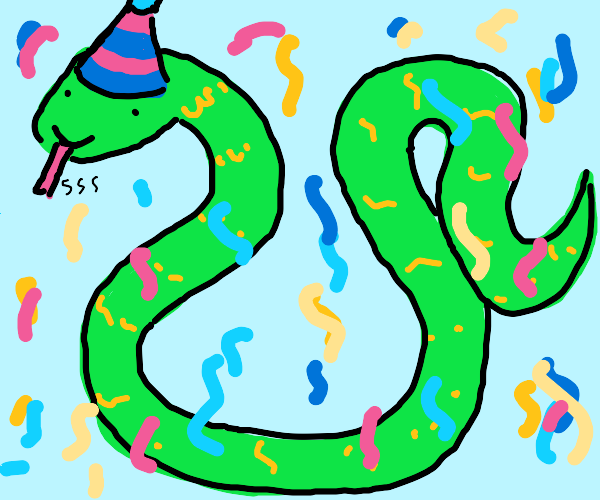 Birthday Snek