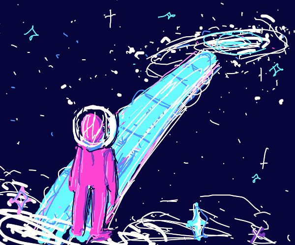 Intergalactic pathway