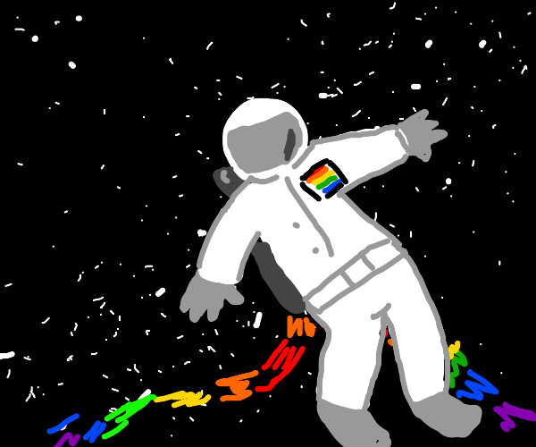 Gay astronaut