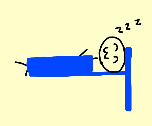 Sleeping on a T