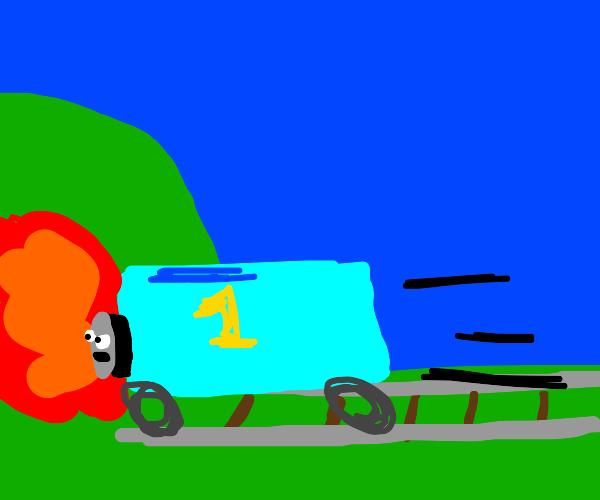 R.I.P Thomas The Train ;(