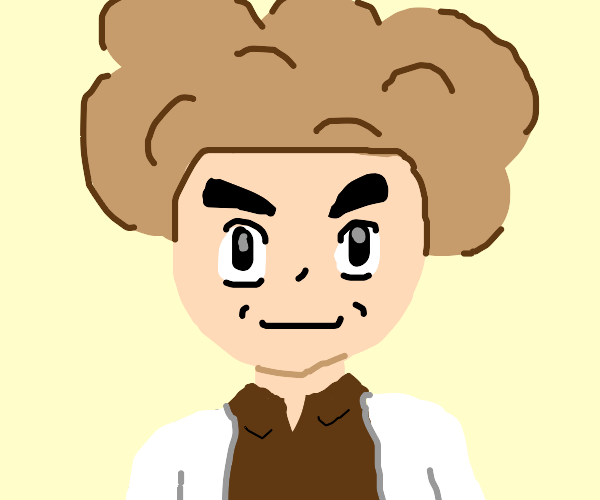 Professor Oak with some wild hair