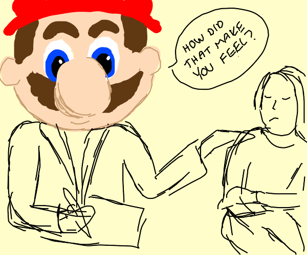 Mario is a therapist