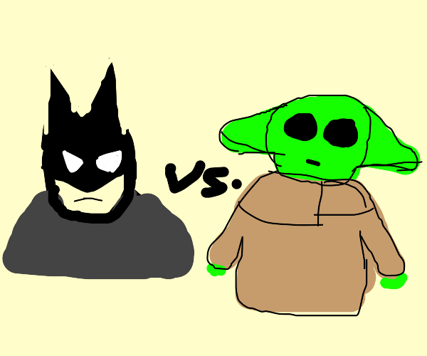 Batman vs Yoda