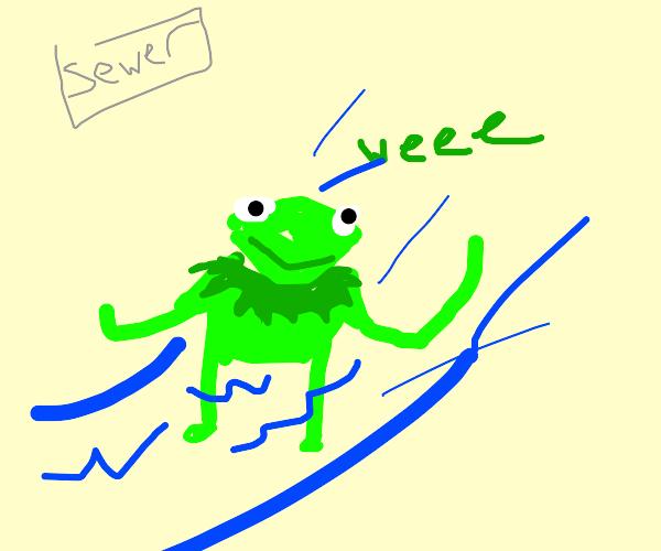 Kermit Sewersliding