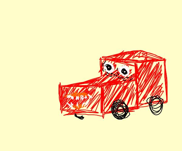 A happy car