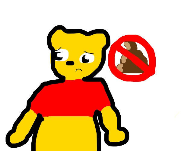Constipated Pooh
