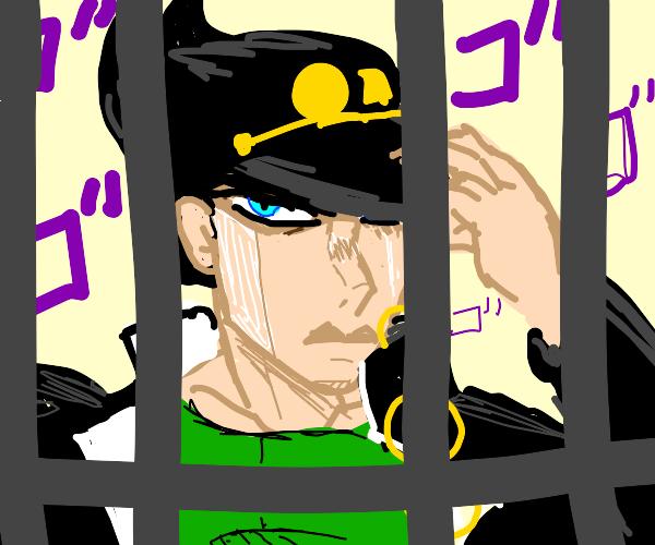 Sinister Guy In Jail