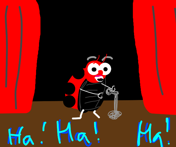 Comedic Ladybug