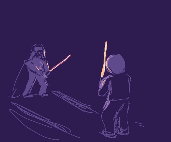 Darth Vader vs. Luke