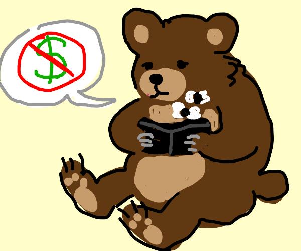 Bear has no money :(