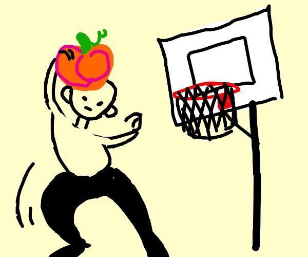 Slam dunk pumpkin