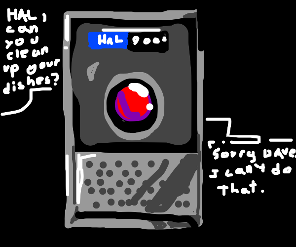 HAL 9000 can't do that