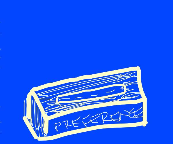 New tissue box