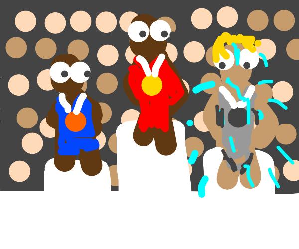 Sweaty Olympian