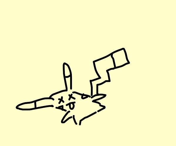 A dead Pokemon