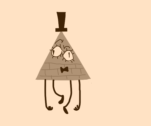 Bill cipher with two eyes