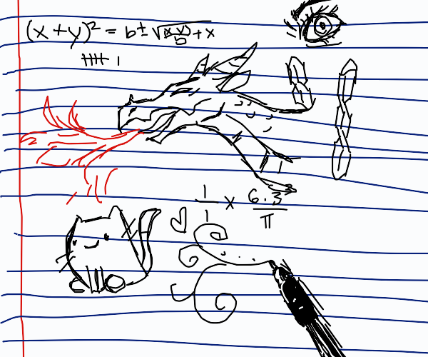 math class doodles