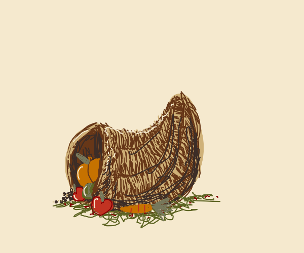 thanksgiving horn thingy