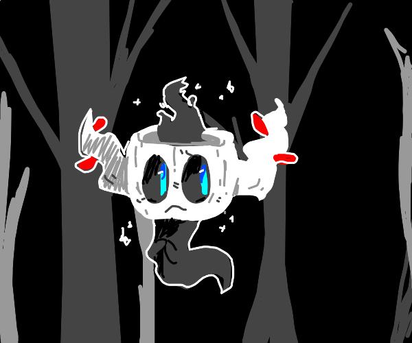 Shiny phantump in the woods