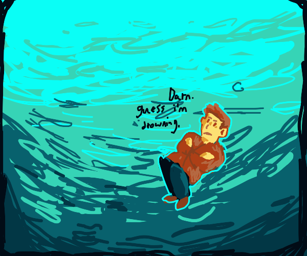 whoops i drowned