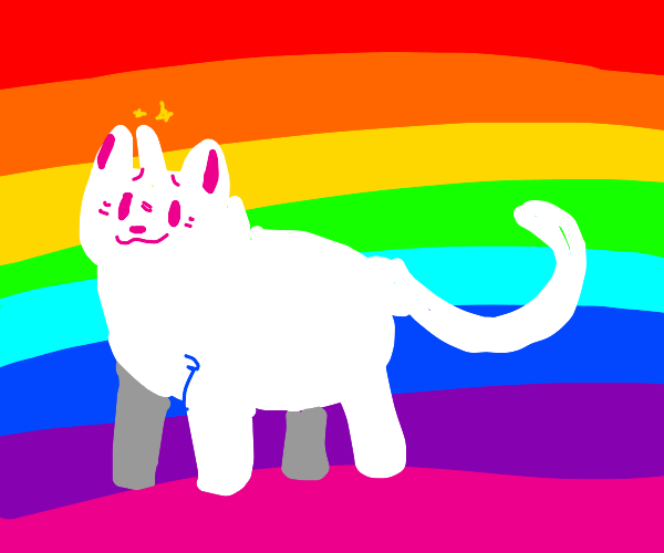 Unicorn Rainbow Cat