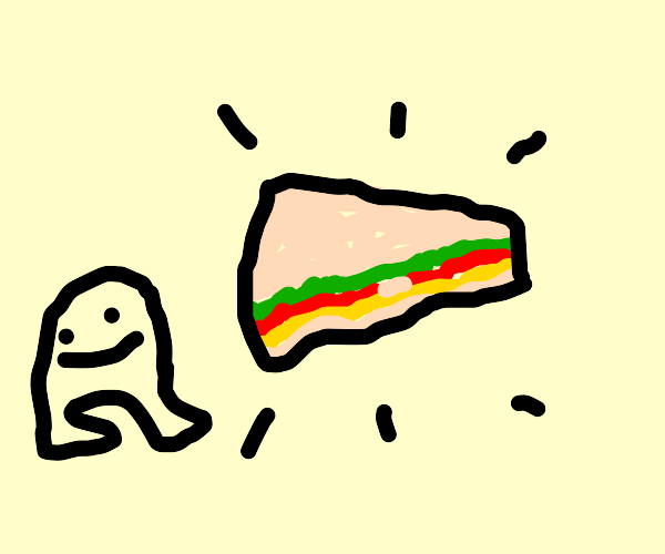a sandwich