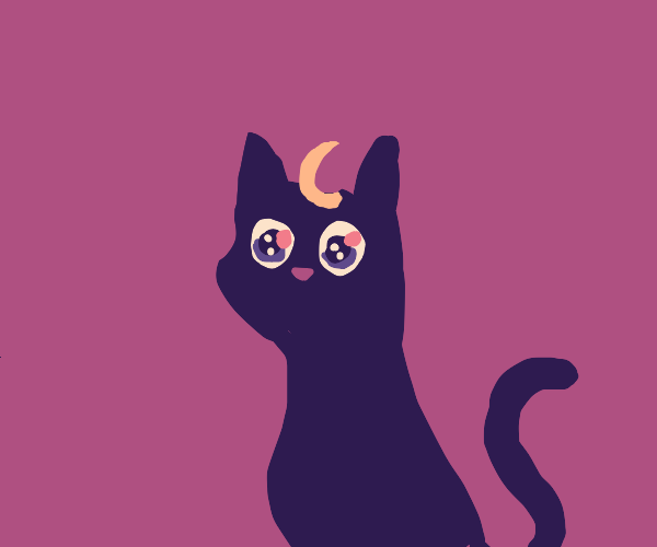 Some anime cat that I don't know