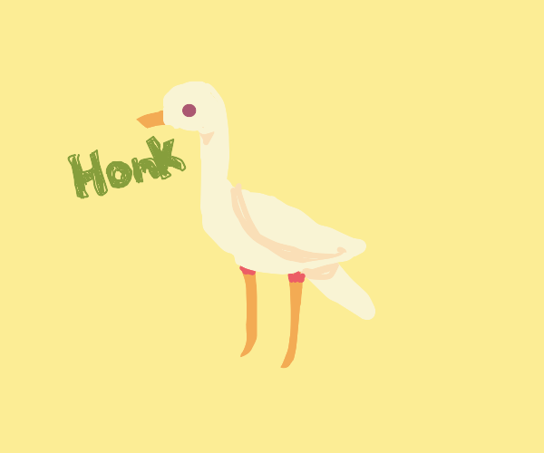 Untitled Goose!