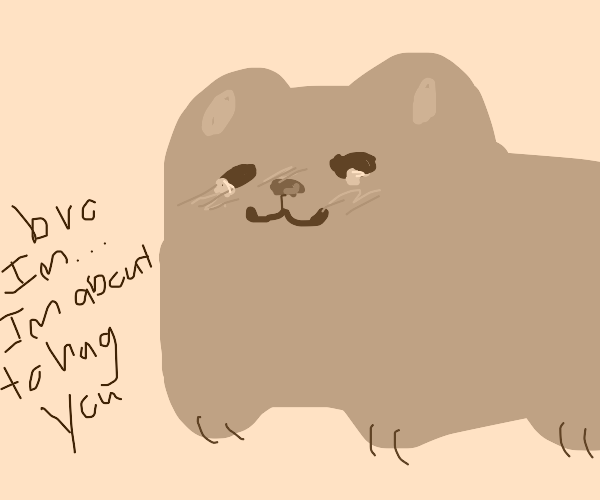 Pusheen about to give you a bro hug