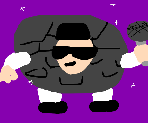 If Elvis was a golem.