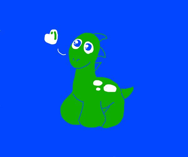 Dinosaur loves u   .w.