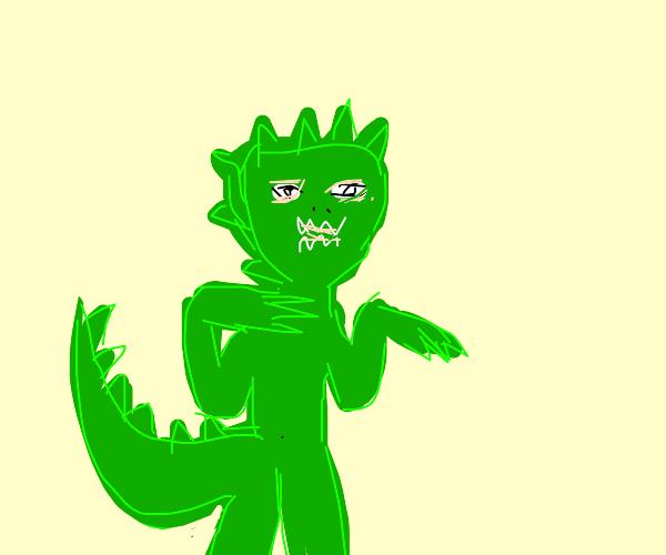 Dino person