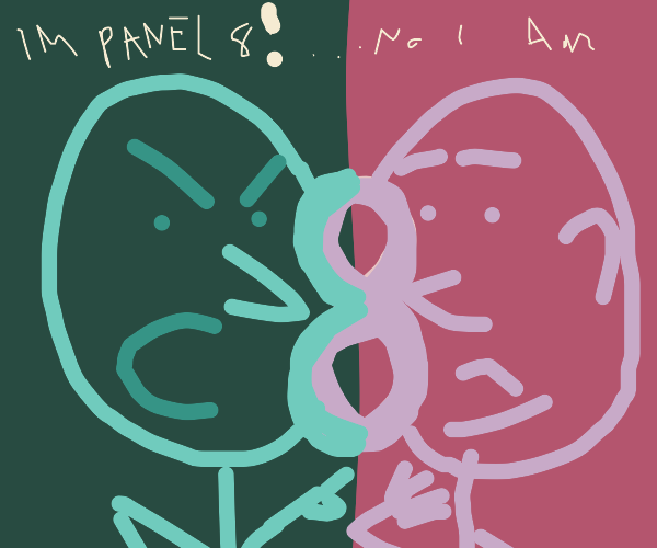 No this is panel 8!