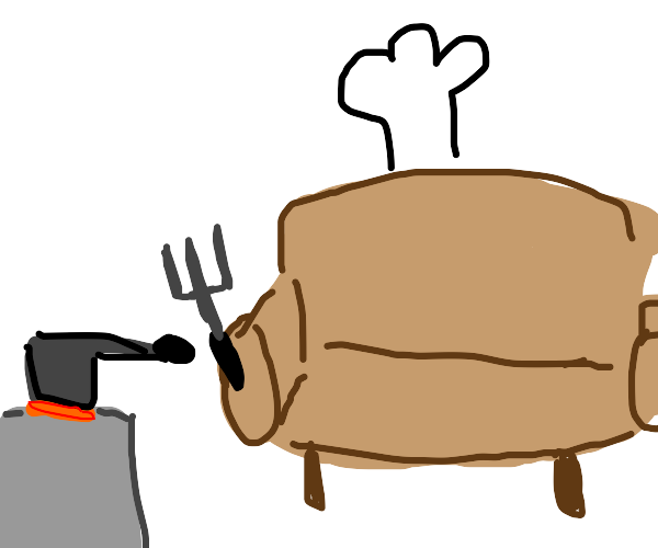 Cooking with a Sofa