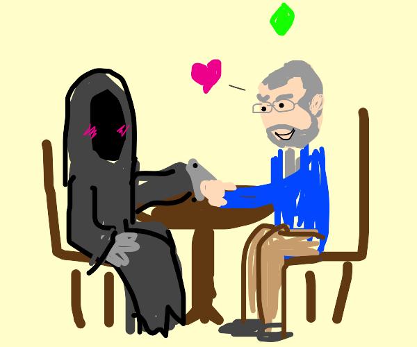 grim reaper on a date!
