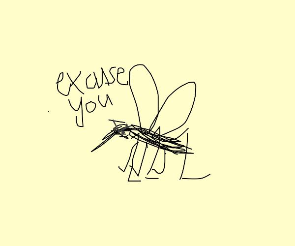 Rude mosquito