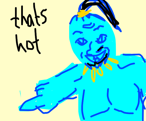 """Will Smith starring as """"the genie"""" in Aladin"""